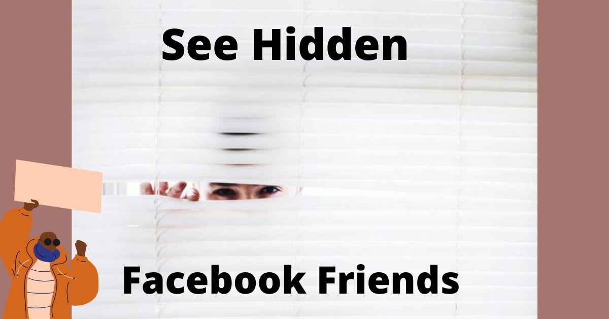 See Hidden Facebook Friends